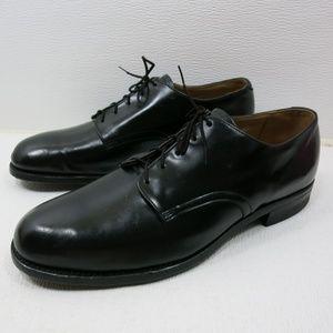 Genesco Inc. Polished Leather Uniform Oxfords 12 R